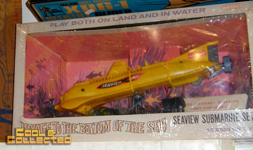 DC Big Flea - vintage voyage to the bottom of the sea seaview submarine