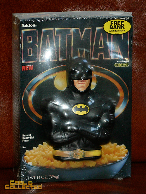 Batman cereal with bank