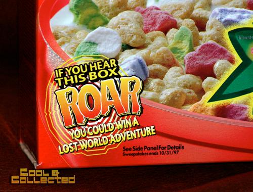 jurassic park crunch cereal