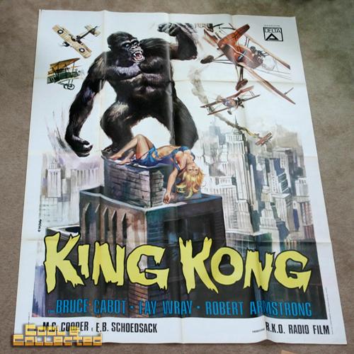 king kong italian vintage 4p poster