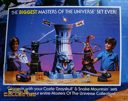 Masters of the Universe MOTU Eternia playset