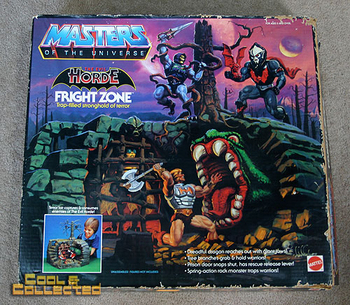 Masters of the Universe MOTU  Fright Zone playset