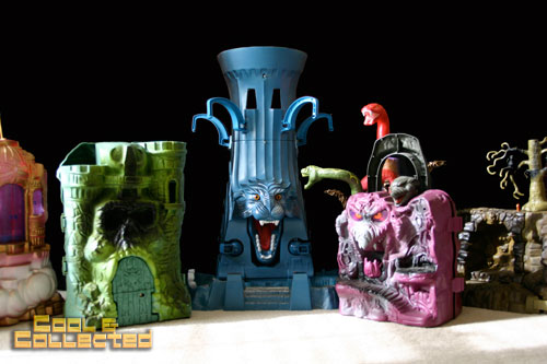 Masters of the Universe (MOTU) - collection of playsets