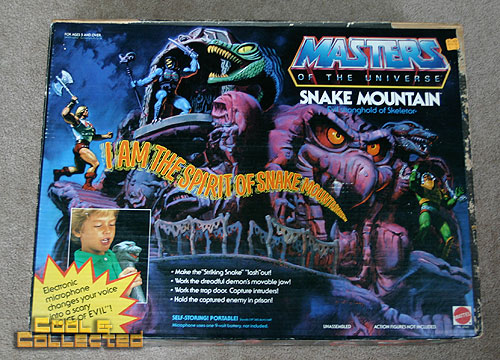 Masters of the Universe MOTU snake mountain playset