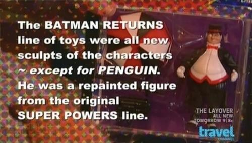 Toy Hunters - Batman Returns Penguin action figure