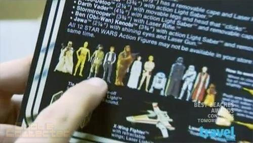 Toy Hunters - Jordan Hembrough finds vintage Star Wars 12-back action figures