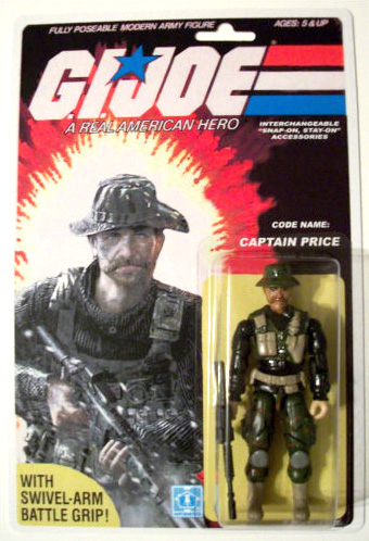 custom action figure: call of duty captain price