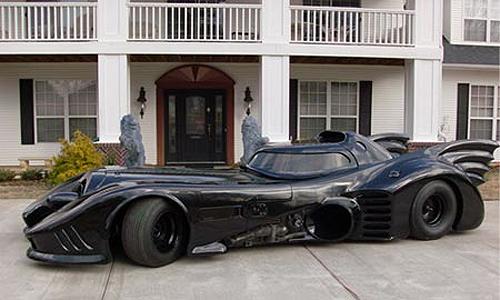movie prop batmobile