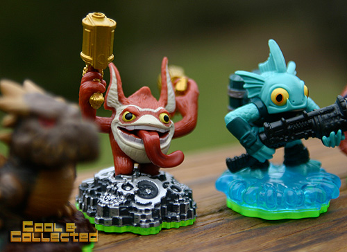 Skylanders Spyro's Adventures action figures