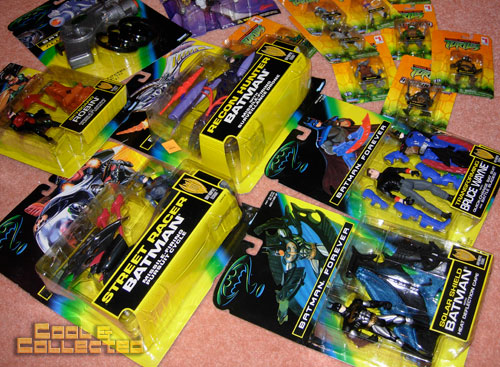 batman action figures from the big toy auction