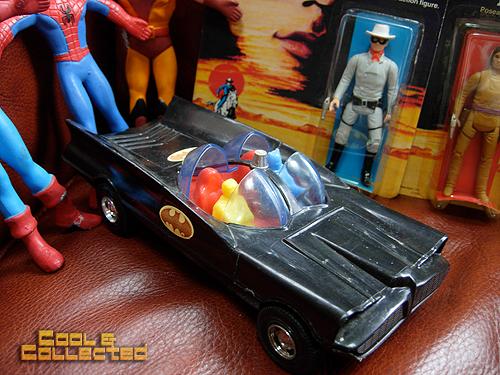 Washington Antique and Collectible Toy Show - 1966 batmobile aurora NPP