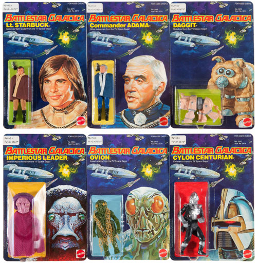 hakes battlestar galactica action figures collection