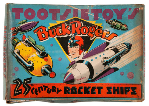 hakes buck rogers tootsie toys rocket ships