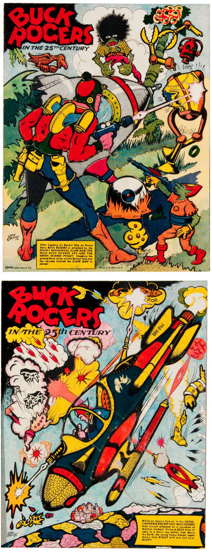 hakes buck rogers vintage puzzles