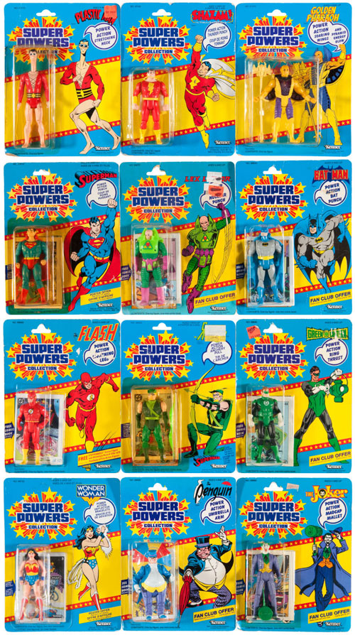 hakes kenner super powers action figures collection