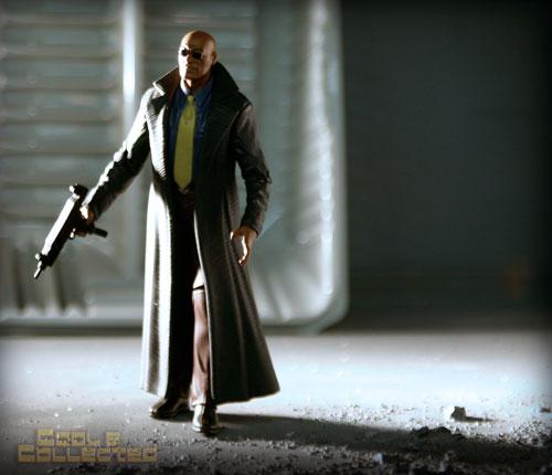 N2 Toys - morpheus - The Matrix - action figure photgraphy