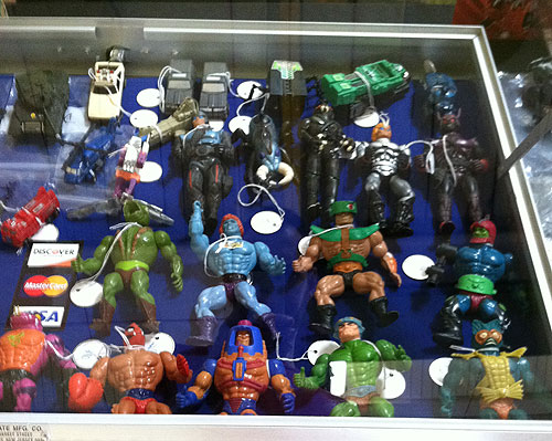 rochester toy show motu sectaurs