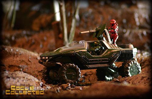Halo Warthog -- action figure photography