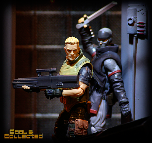 G.I. Joe - Firefly and Duke