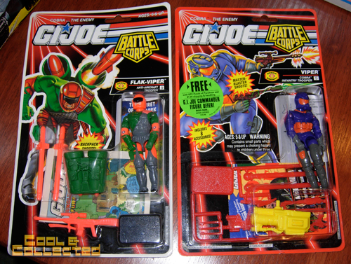 G.I. Joe action figures and vehicles collection