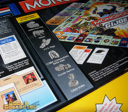 monopoly board game collection