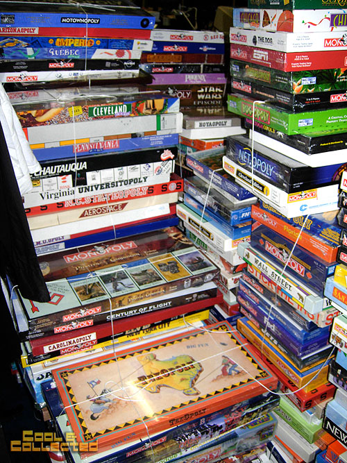 huge monopoly board game collection