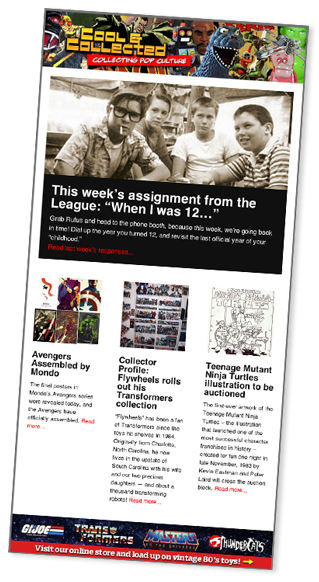 Cool & Collected e-newsletter