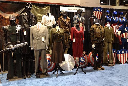 Profiles in History - Captain America auction at c2e2
