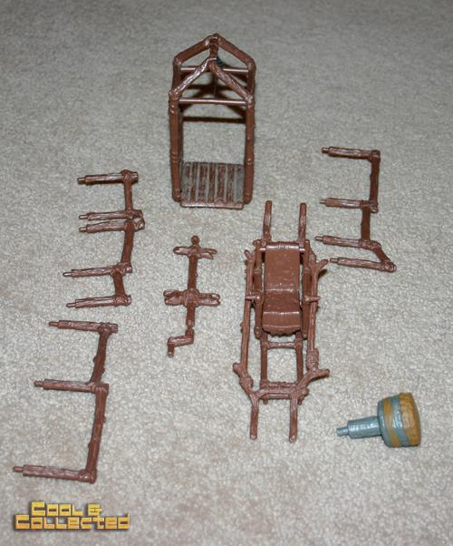 yard sale find - Ewok Village pieces