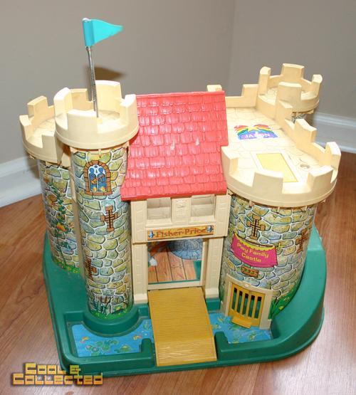 yard sale find - vintage Fisher Price Little People Castle