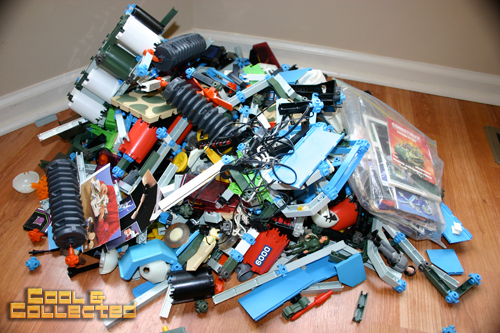yard sale find - Construx toys