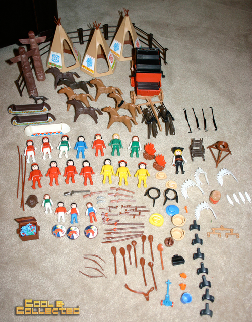 yard sale find - Playmobil Indians