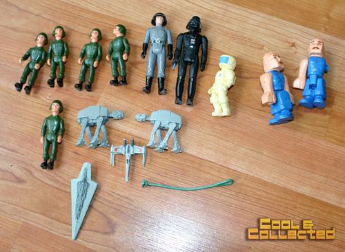 yard sale finds - vintage star wars action figures