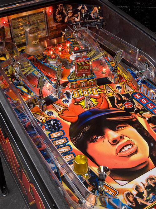AC/DC Pinball machine from Stern pinball