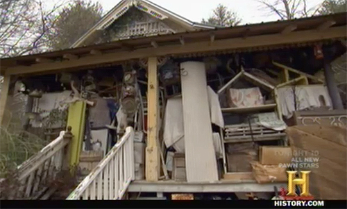 american pickers - crowded house of a hoarder