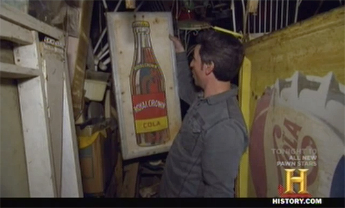 american pickers - RC Cola Sign