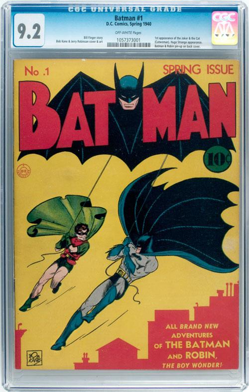 Batman #1 comic book