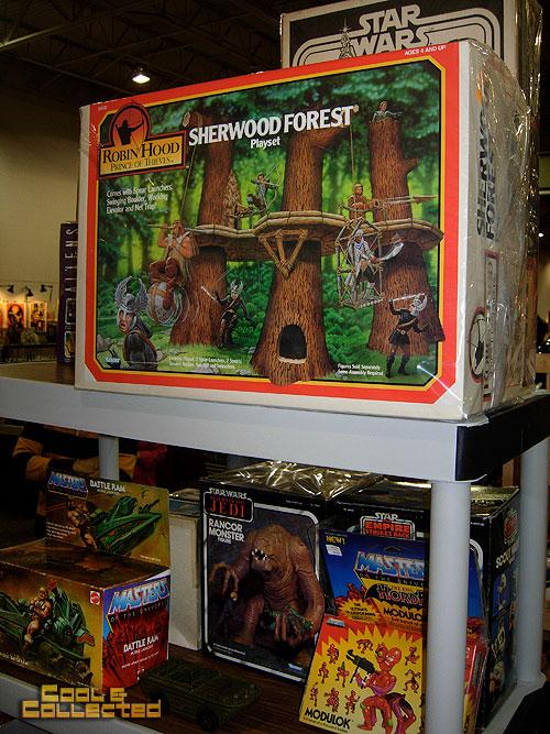 big flea market -- Robin Hood Sherwood forest playset