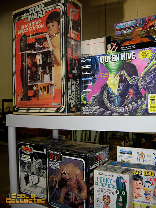 big flea market-- vintage star wars toys