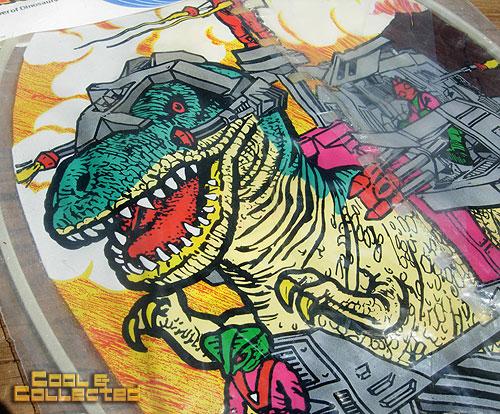 1980s Dinoriders kite