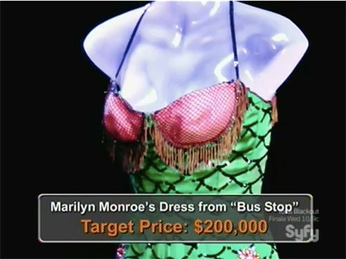 Hollywood Treasure Marilyn Monroe Bus Stop dress