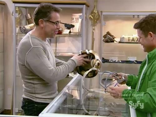 Hollywood Treasure - Sean Astin's Rudy helmet movie prop