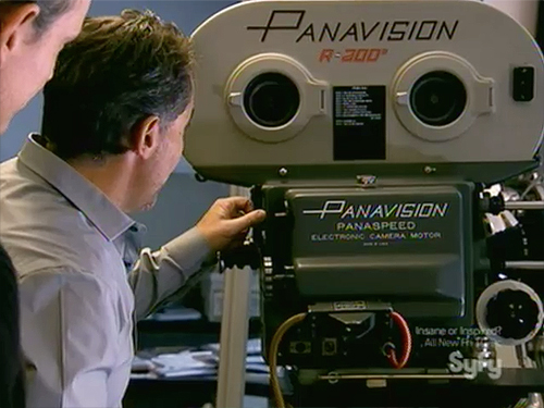 Hollywood Treasure Star Wars Panavision camera