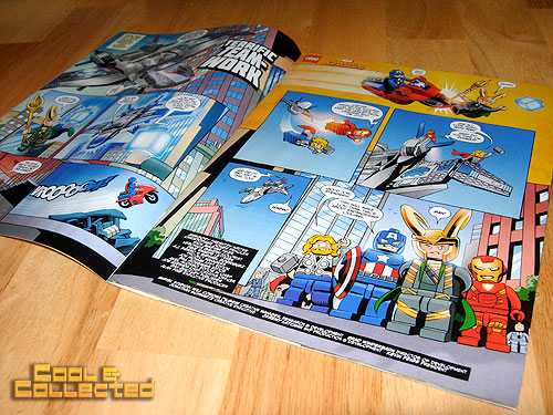 LEGO Club Magazine featuring the Avengers
