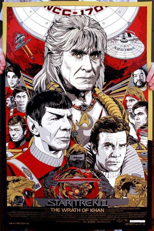 Mondo Wrath of Khan Tyler Stout