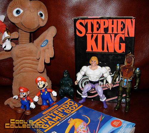 yard sale finds -- he-man, supernaturals, and Mario