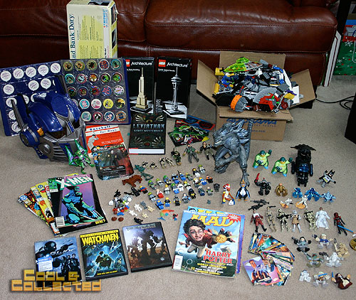 yard sale finds -- toys and action figures