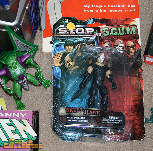 yard sale finds -- STOP vs. SCUM action figure