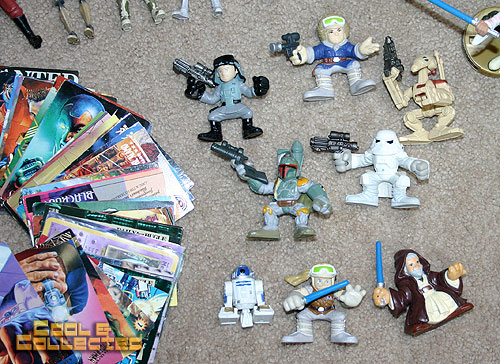 yard sale finds -- Star Wars Galactic Heroes action figures