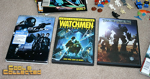 yard sale finds -- DVD movies